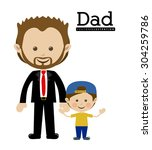 family design  vector... | Shutterstock .eps vector #304259786