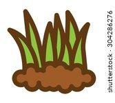 grass | Shutterstock .eps vector #304286276