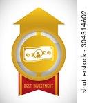 investment digital design ...   Shutterstock .eps vector #304314602