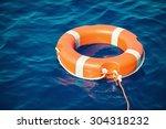 lifebuoy  life preserver | Shutterstock . vector #304318232