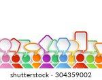illustration of different color ...   Shutterstock .eps vector #304359002
