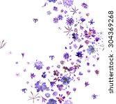Various  Violet Flower Buds...