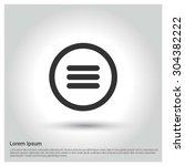 menu icon. circle concept...