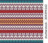 seamless pattern. vintage... | Shutterstock .eps vector #304394162