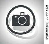 camera sticker icon