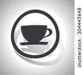 coffe cup sticker icon