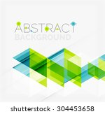 abstract geometric background.... | Shutterstock . vector #304453658