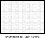 puzzle | Shutterstock . vector #30448498