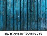 Old Rustic Blue Wood Board...