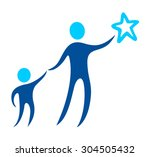 son protection | Shutterstock .eps vector #304505432