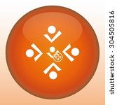 group of people icon  vector... | Shutterstock .eps vector #304505816