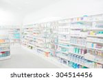 Pharmacy Interior With Blurred...