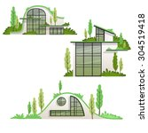 Modern Eco Houses Collection In ...