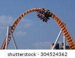 twist and turns of a modern... | Shutterstock . vector #304524362
