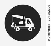 cargo truck icon | Shutterstock .eps vector #304602308