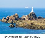 Lighthouse On The Rocky Coast...