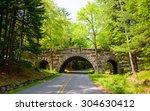 Bridge And Road  Acadia...