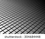 monochrome seamless pattern .... | Shutterstock .eps vector #304684448