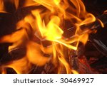 fire background   Shutterstock . vector #30469927