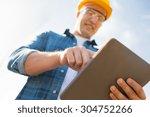 business  building  industry ... | Shutterstock . vector #304752266