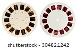 View Master Disk Isolated On...