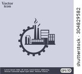 industrial icon | Shutterstock .eps vector #304829582