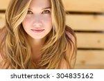 beautiful woman | Shutterstock . vector #304835162