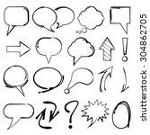 Speech Bubble  Sketch...