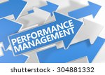 performance management   3d... | Shutterstock . vector #304881332