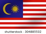 original and simple malaysia... | Shutterstock .eps vector #304885532