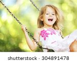 child. | Shutterstock . vector #304891478