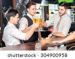 best to spend the evening with... | Shutterstock . vector #304900958