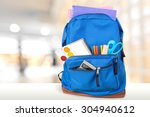 backpack. | Shutterstock . vector #304940612