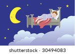 child dreaming | Shutterstock . vector #30494083