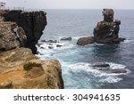 Cliff Above The Sea
