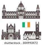 ireland. vector illustration.... | Shutterstock .eps vector #304993472