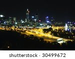 Perth City Skyline At Night...