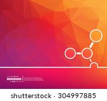 abstract creative concept... | Shutterstock .eps vector #304997885
