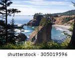 arch rock trail viewpoint at... | Shutterstock . vector #305019596