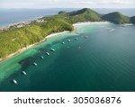 pattaya  august 5   koh larn... | Shutterstock . vector #305036876