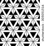vector modern sacred geometry... | Shutterstock .eps vector #305051516