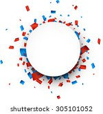 colorful celebration background.... | Shutterstock .eps vector #305101052