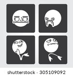 simple icons  emotions
