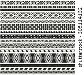 seamless pattern. vector... | Shutterstock .eps vector #305114132