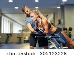 sport  training  fitness ... | Shutterstock . vector #305123228