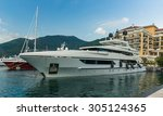 Yacht At Luxury Waterfront...
