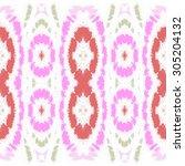 blots spots tribal folk... | Shutterstock . vector #305204132
