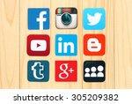 kiev  ukraine   july 01  2015 ... | Shutterstock . vector #305209382