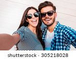 capturing bright moments.... | Shutterstock . vector #305218028