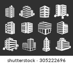 set of hotel icons. business... | Shutterstock . vector #305222696